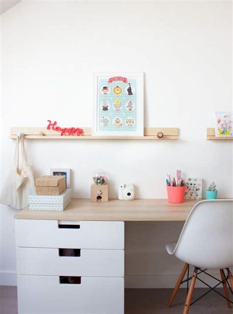 bureau pour deux enfants meuble rangement enfant ikea stuva