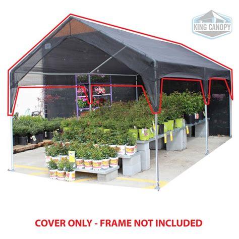 king canopy  ft   ft black shade mesh greenhouse canopy cover walmartcom walmartcom