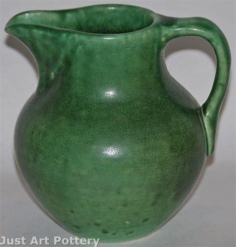 Rookwood Pottery 1901 Matte Green Z Line Pitcher Shape