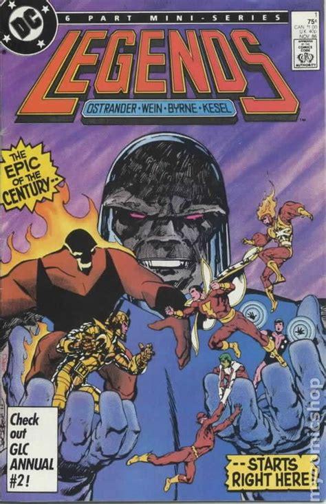 legends  dc comic books