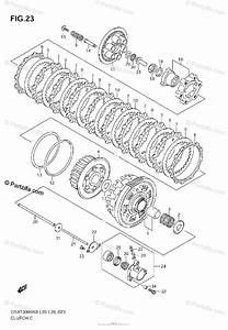 Suzuki Motorcycle 2008 Oem Parts Diagram For Clutch