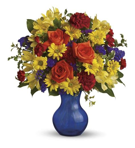 You Place The Flowers In The Vase by Teleflora S Three Cheers For You Tev01 1a 58 46