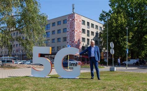 FOTO: Latvijā palaists pirmais 5G internets LMT tīklā un ...