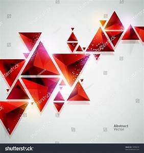 Abstract Red 3d Background Stock Vector 74898259 ...