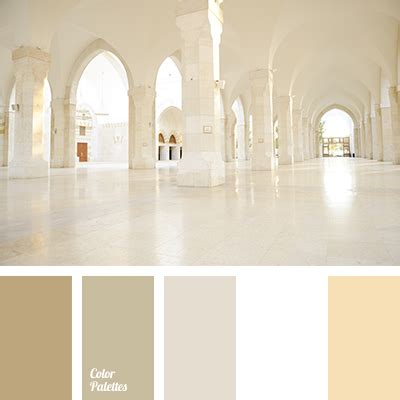 white  beige color palette ideas
