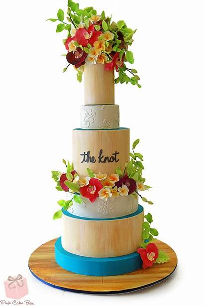 Cake Tropical Cakes Theme Themed Knot Ambiance