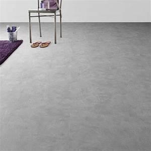 Dalle Clipsable Pvc : dalle pvc clipsable gris industry clear senso lock gerflor ~ Melissatoandfro.com Idées de Décoration