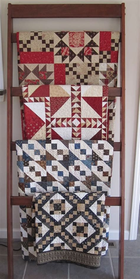 tips   decorate  room  quilt rack ladder