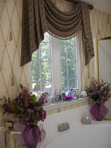 master bathroomwindow treatment curtain ideas pinterest