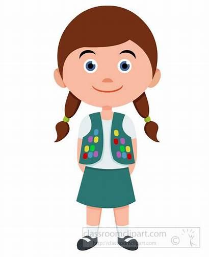 Clipart Clip Child Children Scout Leader Uniform