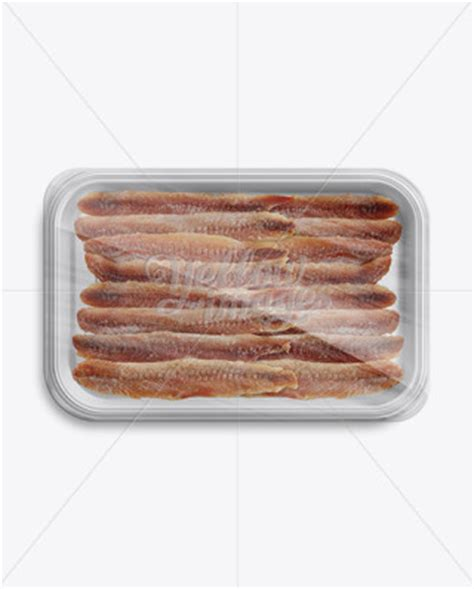 Free sausage meat tray food packaging mockup. White Plastic Vacuum food tray in Tray & Platter Mockups ...