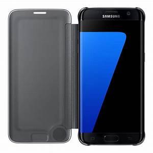 Enregistrer Produit Samsung : samsung clear view cover noir samsung galaxy s7 edge etui t l phone samsung sur ~ Nature-et-papiers.com Idées de Décoration