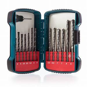 Makita P-51889 Masonry Drill Bit Set 13 Pcs | Powertool World