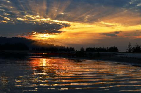 Sunrise Above Mountains Free Image Peakpx