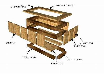 Planter Box Wooden Boxes Plans Wood Waterproof