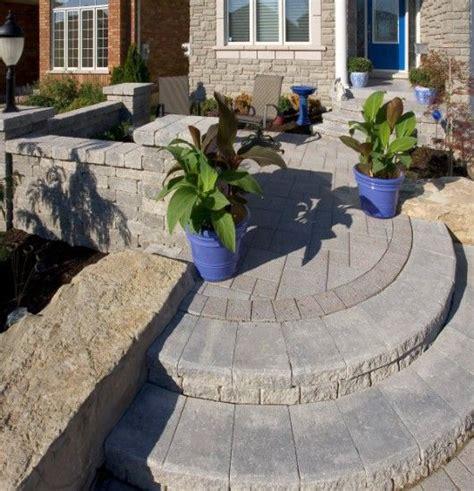 unilock steps installation 25 best ideas about unilock pavers on pavers