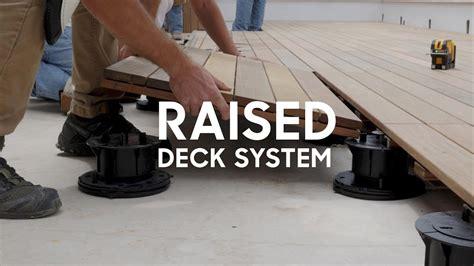 deck   flat roof youtube
