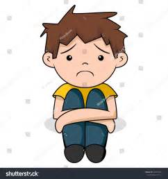 Sad Boy Cartoon