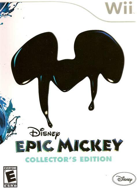 Buy Nintendo Wii Epic Mickey Collectors Edition