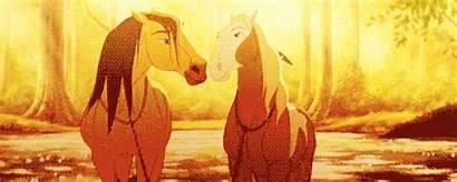 Spirit Animation Horse Stallion Cimarron Gifs Rain