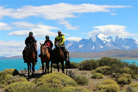 horse paine torres riding patagonia swoop chile