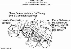 Service Manual  How To Set Timing Marks On A 2009 Toyota