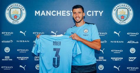 Ruben Dias first words as a Man City player as signing ...