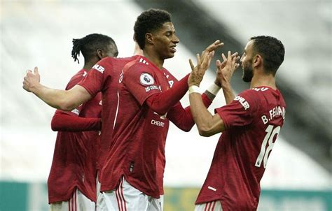 Newcastle United 1-4 Manchester United: Red Devils Player ...