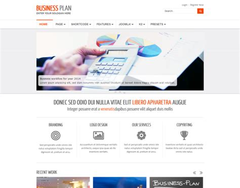 businees 2 joomla template business plan ii free responsive business joomla template
