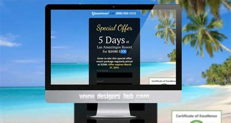 Tourism Landing Page Templates by 15 Award Winning Unbounce Landing Page Templates