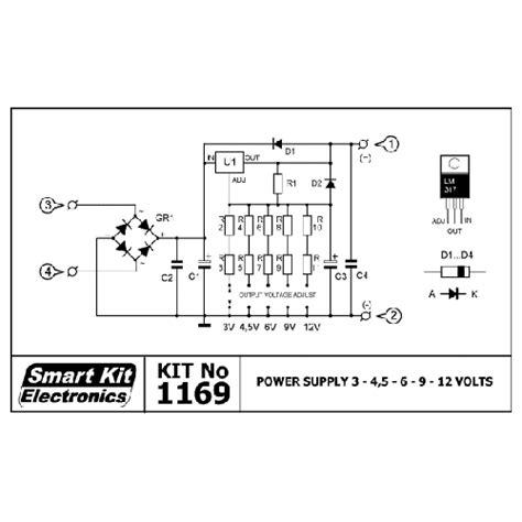 power supply      dc  amp smart kit