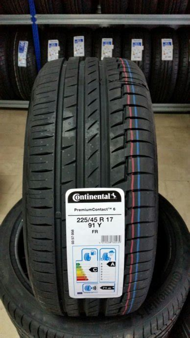 continental premium contact 6 225 45 r17 gume continental premiumcontact 6 225 45 17 fr 699 99kn