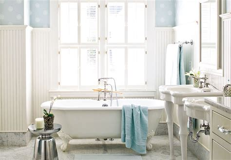 parisian pedestal sink cottage bathroom  home ideas