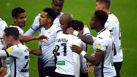 Swansea City 2-0 Blackburn Rovers - Ben Cabango and Andrew ...