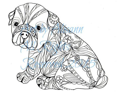 Dog Coloring Pages Adult