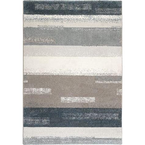 tapis moderne esprit dreaming bleu  gris