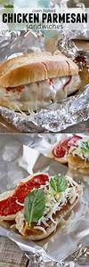 Chicken Parmesan goes sandwich style in these easy and ...