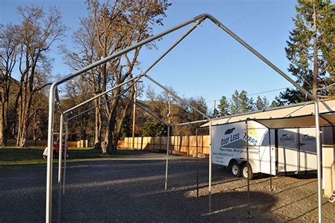 galvanized steel carport frames costless tarps