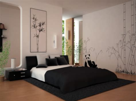 wall painting designs black and white wall painting decoration modern interior bedroom wall Bedroom