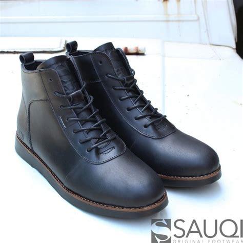 jual sepatu pria brodo boots sauqi footwear sepatu kulit