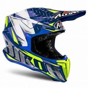 Casque Moto Airoh : casque cross airoh twist iron blue gloss 2019 casque cross ~ Medecine-chirurgie-esthetiques.com Avis de Voitures