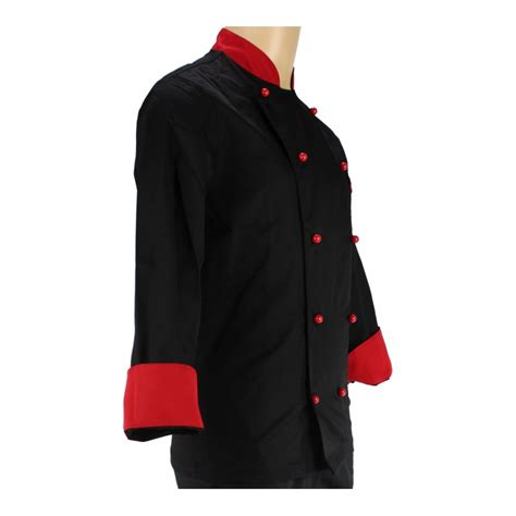 vetements cuisine vêtement de cuisine noir et pour homme lisavet