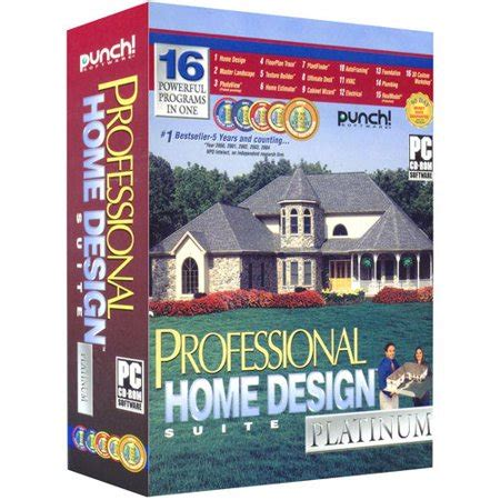 Home Design Punch Pro by Punch Software Professional Home Design Platinum V 10
