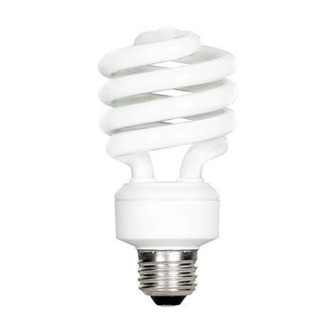shop feit electric 100 w equivalent soft white spiral cfl