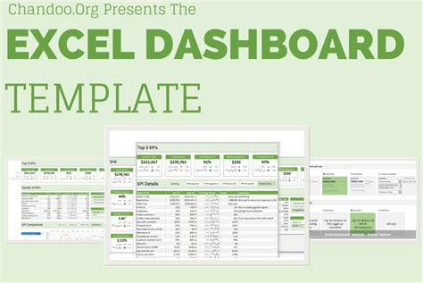 c template exle 11 things i learned from dissecting chandoo s excel dashboard template brad edgar