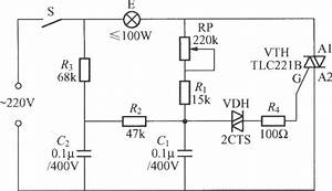 triac circuit page 3 other circuits nextgr With motor control wiring diagrams in addition triac dimmer circuit diagram