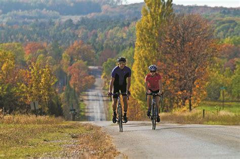 leelanau michigan bike routes road county mynorth northern