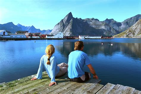 lofoten islands  hamaroy scandinavia