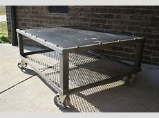 Custom GridIron Coffee Table by EPIC Industrial Furniture