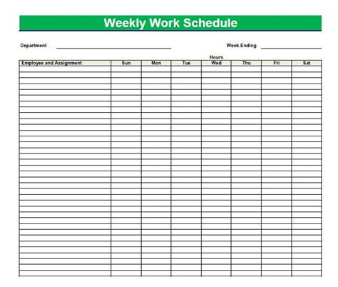 blank time sheets  employees printable blank